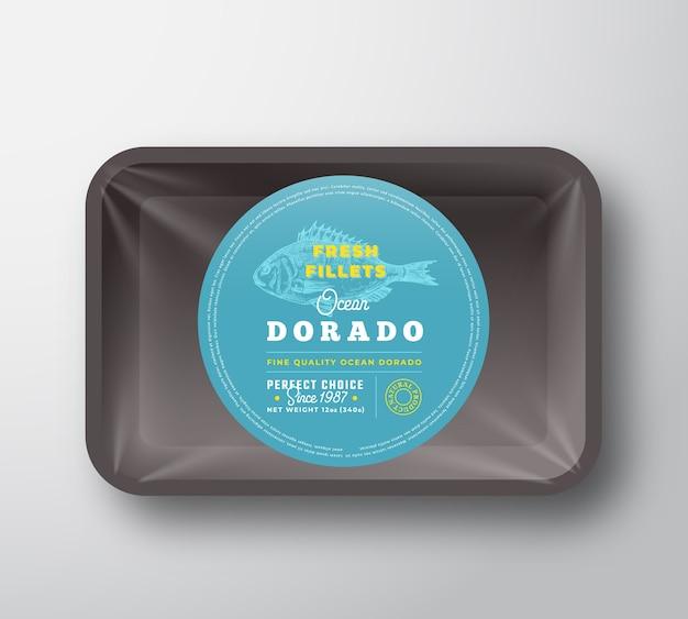 Ocean dorado filets container