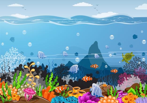Oceanen en onderwaterwerelden