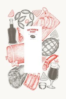 Octoberfest-kaart