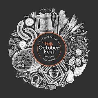 Octoberfest-sjabloon.