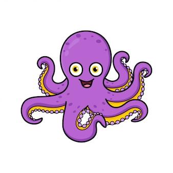 Octopus cartoon afbeelding