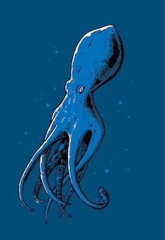 Octopus illustratie