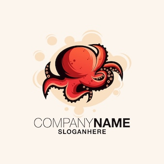 Octopus logo-ontwerp