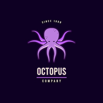 Octopus logo sjabloon