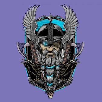 Odin god en asgard