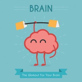 Oefening voor de hersenen ontwerp