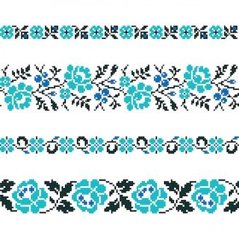 Oekraïens oud borduurwerk en patronen