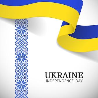 Oekraïne onafhankelijkheidsdag nationale patroon day