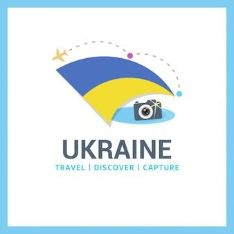 Oekraïne travel logo