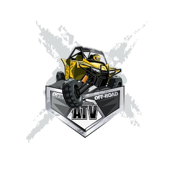 Off-road atv buggy-logo
