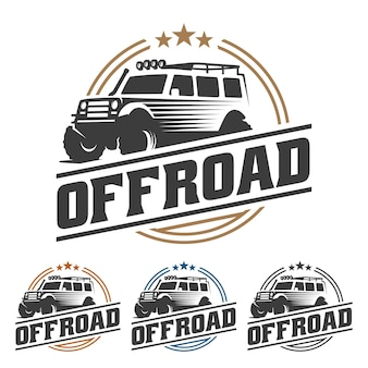 Off-road auto-logo