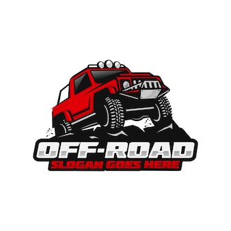 Off-road logosjabloon