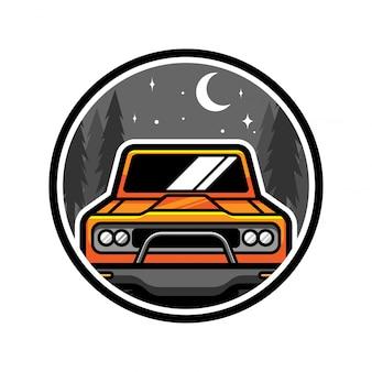 Off road vector logo