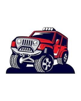 Off-road voertuig logo