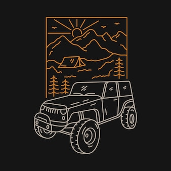 Off roader camp
