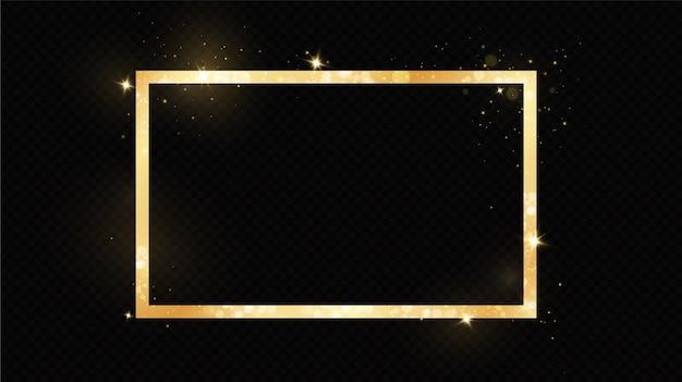 Offerte box frame geïsoleerd op zwart