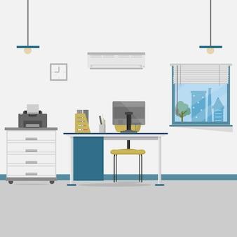 Office achtergrond ontwerp