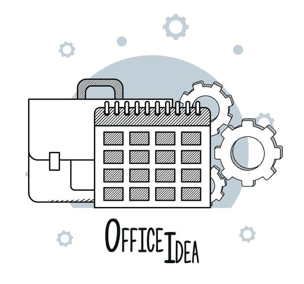 Office-ideeën doodles