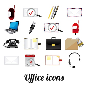 Office-pictogrammen