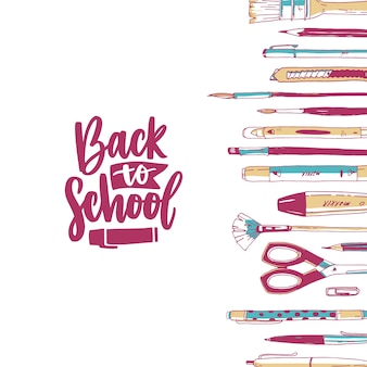 Office tools illustratie