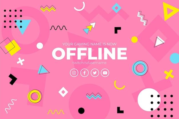 Offline twitch banner concept