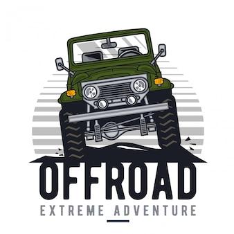 Offroad extreem avontuur