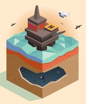 Offshore booreiland