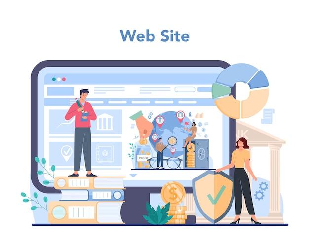 Offshore gespecialiseerde online service of platform