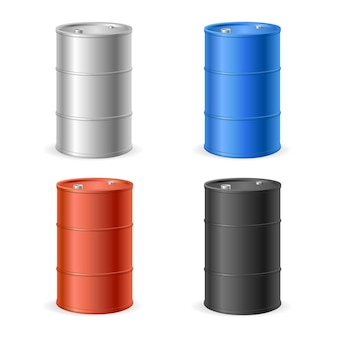 Oil barrel drum collection.
