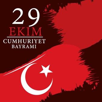 Oktober republiek dag turkije