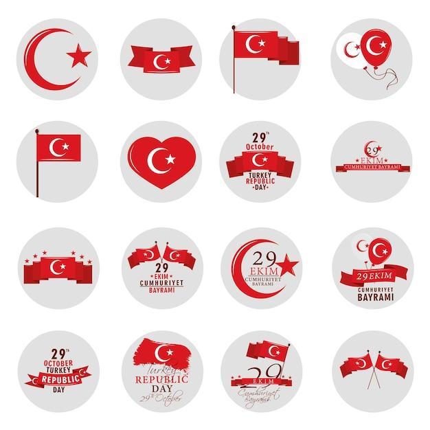 Oktober republiek turkije