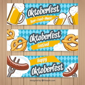 Oktoberfest, 3 banners
