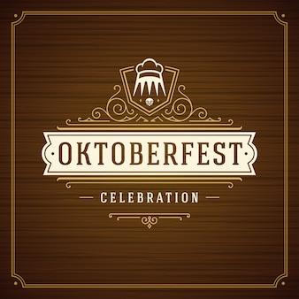 Oktoberfest achtergrond