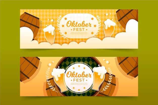 Oktoberfest banners thema