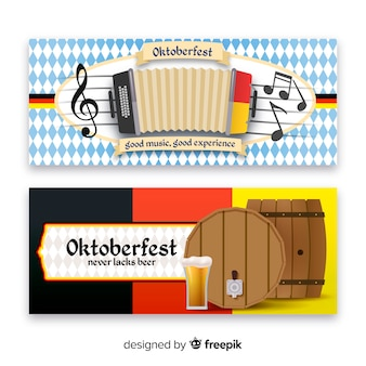 Oktoberfest-banners