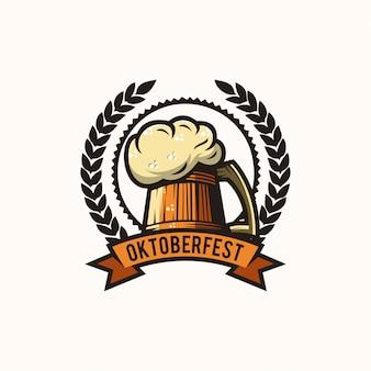 Oktoberfest bier logo