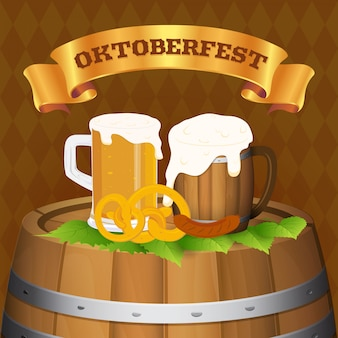 Oktoberfest bierfestival