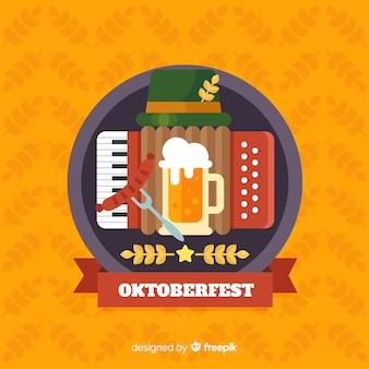 Oktoberfest concept achtergrond