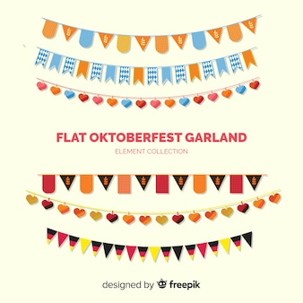 Oktoberfest decoratieve guirlande set