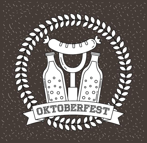 Oktoberfest duitsland-viering