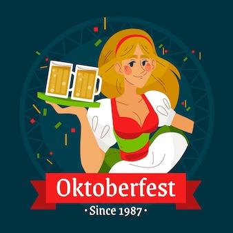 Oktoberfest evenementontwerp