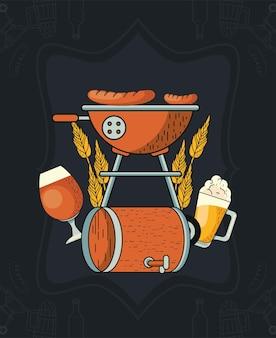 Oktoberfest feest feest