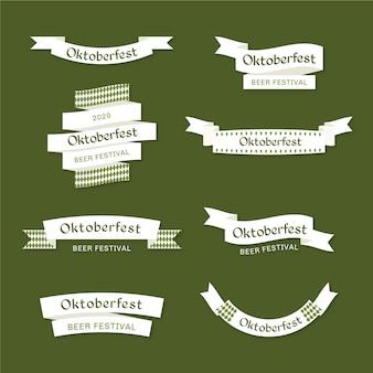 Oktoberfest linten sjabloon