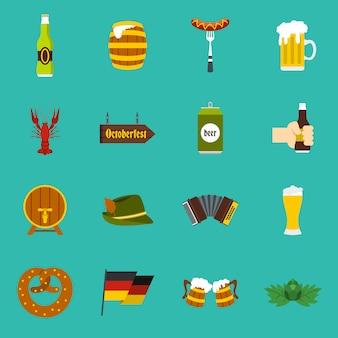 Oktoberfest pictogrammen instellen