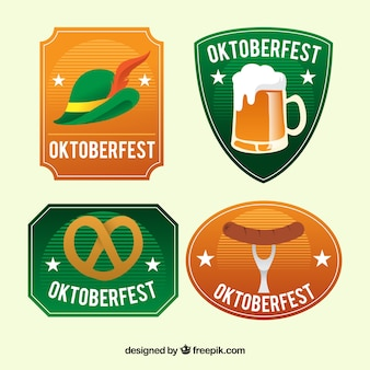 Oktoberfest, vier badges