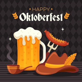 Oktoberfest viering thema