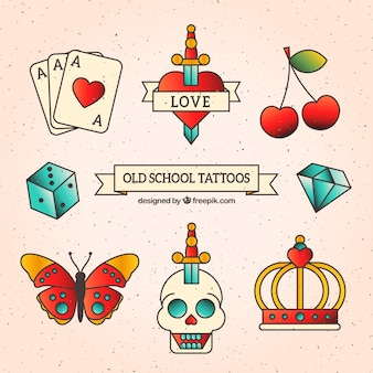 Old school tattoo collectie
