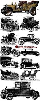 Oldtimers vector pack