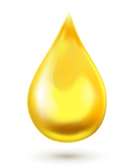 Olie druppel illustratie