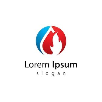 Olie en gas logo afbeeldingen afbeelding ontwerp